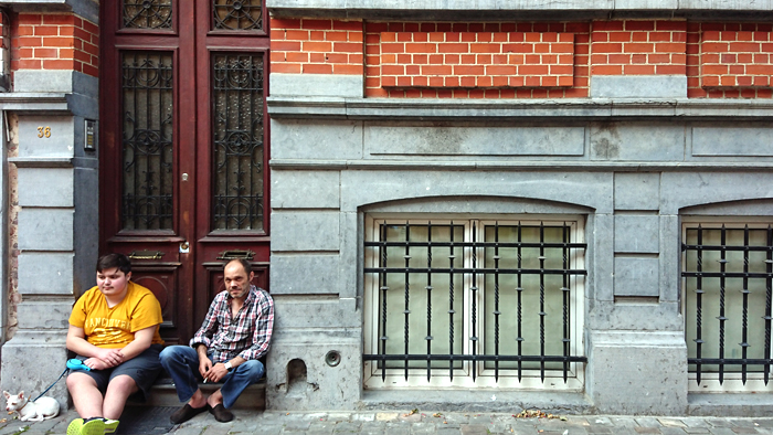 Rue Bergé, 36   Vlahne et Hali, son fils