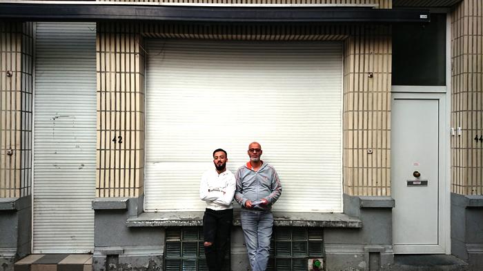 Rue Brand, 42   Karim et son fils