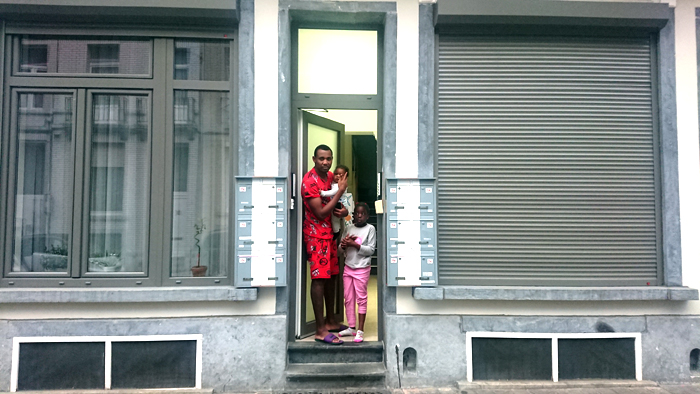 Rue Goossens, 14   Ismaël et ses enfants