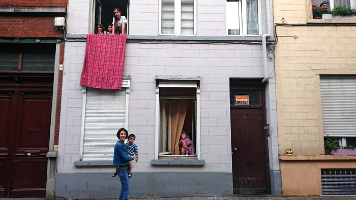 Rue Goossens, 6   La famille de Allen